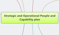 Strategic and Operational People and Capability plan
