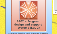 Program Design and Support Systems