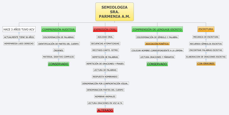 SEMIOLOGIA SRA. PARMENIA A.M.