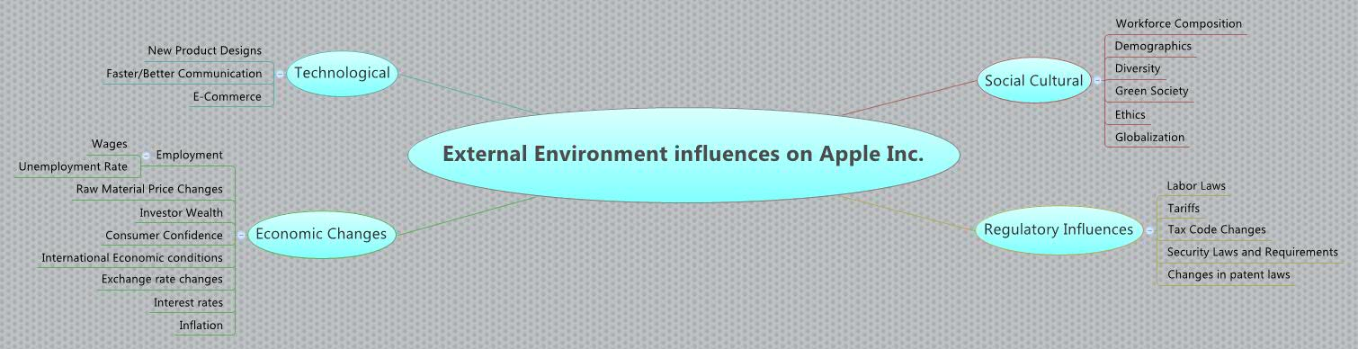 apple inc external environmental scan