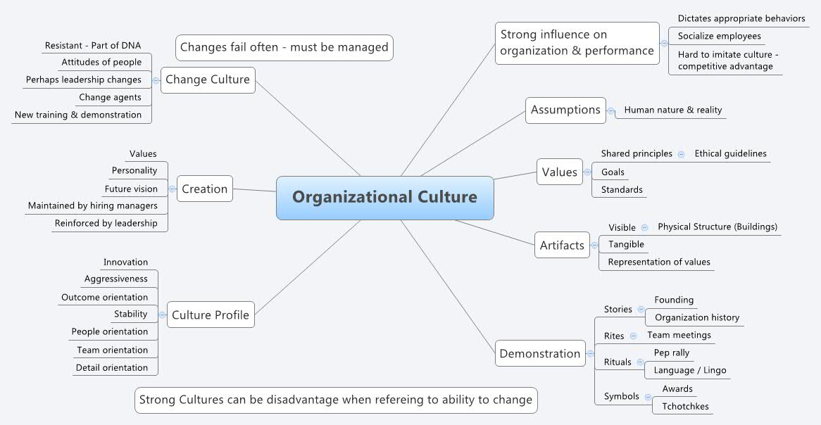 Organizational Culture -- XMind Online Library