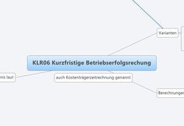 KLR06 Kurzfristige Betriebserfolgsrechung