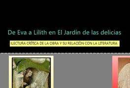 De Eva a Lilith en El Jardín de las delicias