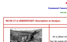 NE EN 17 A LEIDENSTADT: Description et Analyse
