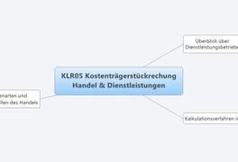 KLR05 Kostenträgerstückrechung Handel & Dienstleistungen