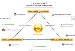La démarche A.E.F  Assurer l'Efficacité en Formation