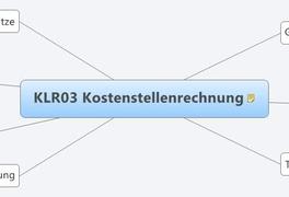 KLR03 Kostenstellenrechnung