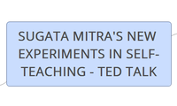 SUGATA MITRA'S NEW EXPERIMENTS IN SELF-TEACHING - TED TALK