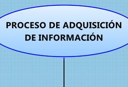 PROCESO DE ADQUISICIÓN  DE INFORMACIÓN