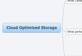 Cloud Optimized Storage